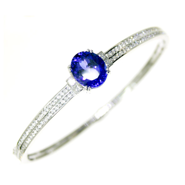 Tanzanite Bangle