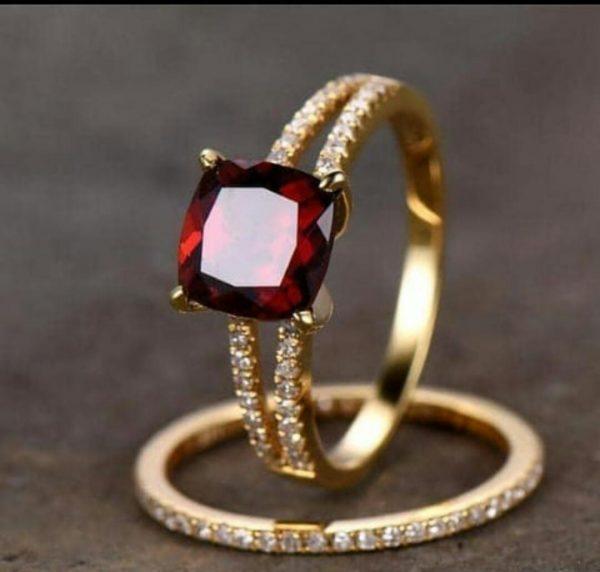 Ruby Ring set