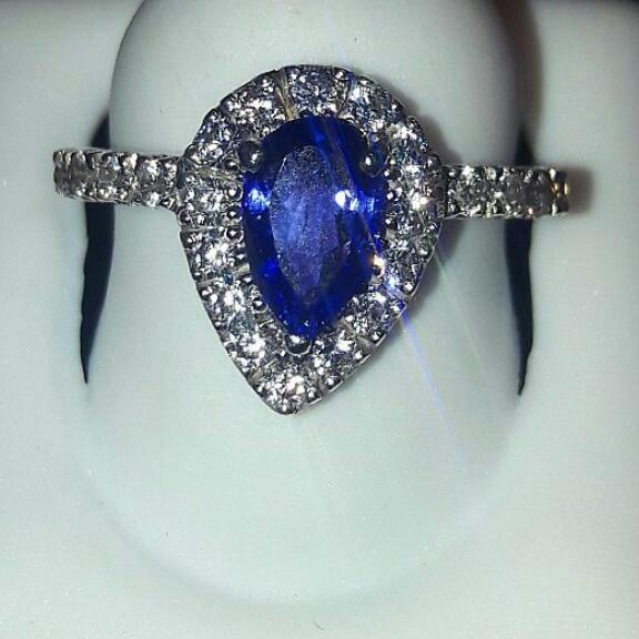 Simple Tanzanite Ring